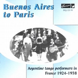 Buenos Aires to Paris | Argentine tango performers in France 1924-1938